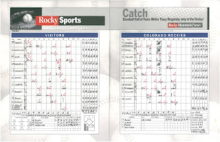 Padres vs. Rockies, 07-01-08