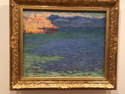 John Russell painting, Antibes, 1892, AGNSW exhibition 2018