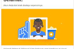 Tips Jitu Agar Mudah Diterima Oleh Google Adsense [FULL APPROVE]