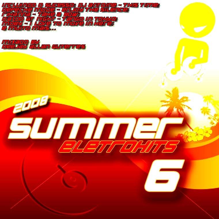cd summer eletrohits 6 2008