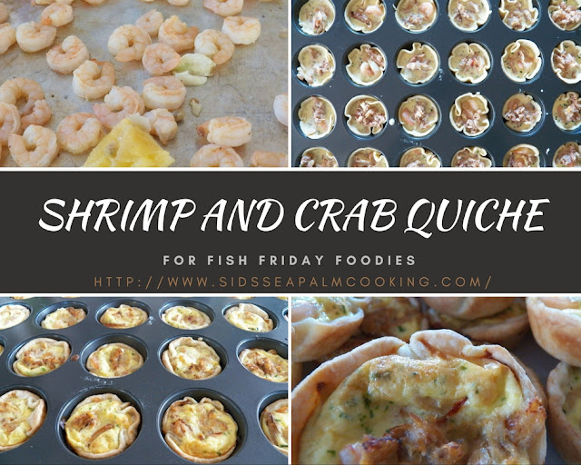 Shrimp and Crab Quiche
