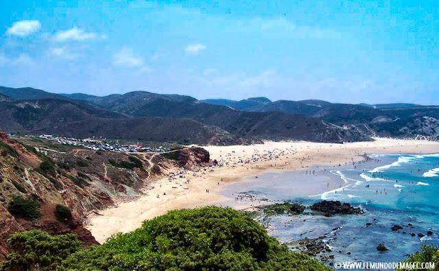 playas-del-alentejo. Playa de Amadao