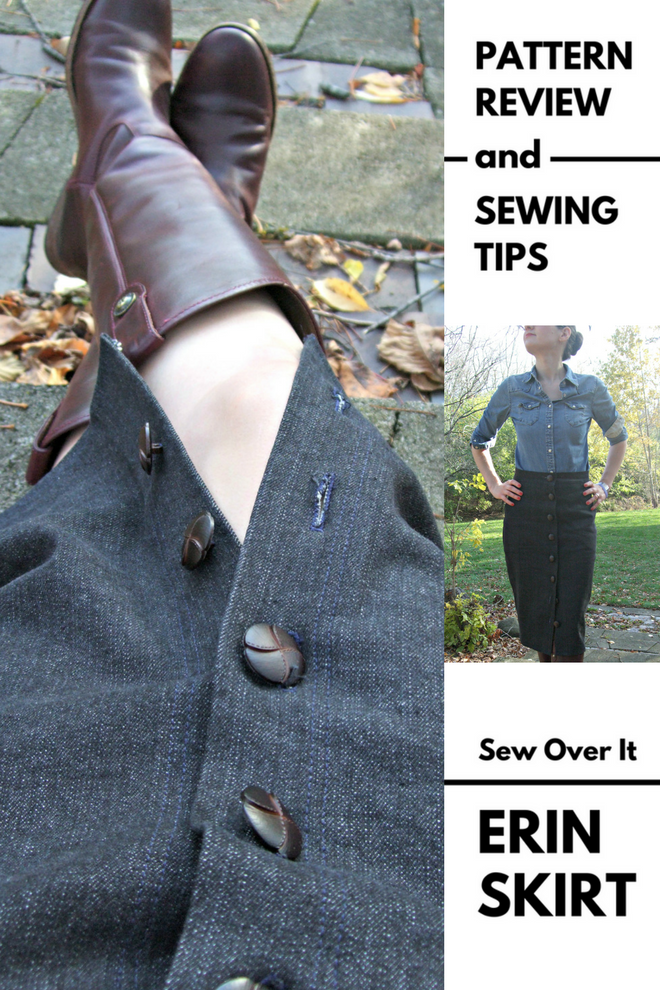 Discover tips for sewing the Sew Over It Erin skirt.