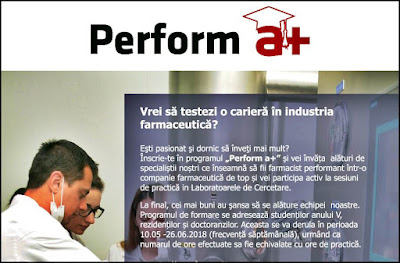 acte inscriere perform a+ antibiotice