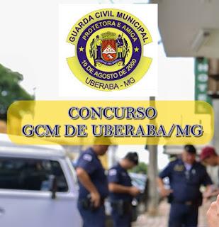 Concurso da Guarda Municipal de Uberaba edital 2019