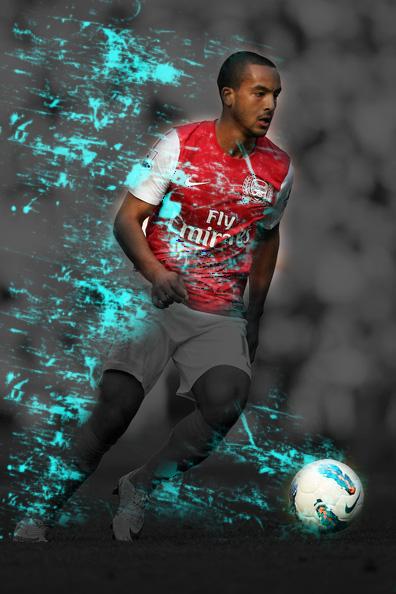 Edit Foto Pemain Bola : pemain, TAUFIKGUNS:, Membuat, Keren, Gambar, Photoshop