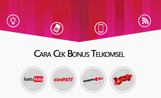Tips Cara Mudah dan Benar Cek Bonus Internet, SMS dan Nelpon Telkomsel Simpati, Loop dan Kartu As PermataPulsa.Co