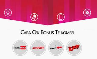 Cek Bonus Telkomsel 2017