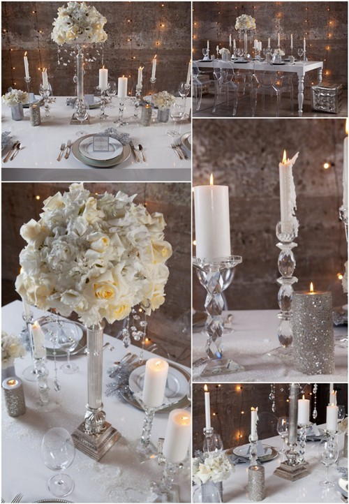 Wedding In Italy: New Year's Eve Dinner Tablescapes