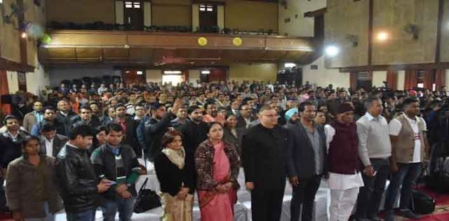 राजस्थान यूनिवर्सिटी का 73वां स्थापना दिवस समारोह आयोजित