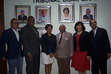 Develan galería pasados presidentes Tribunal Disciplinario del CDP