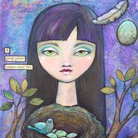 Laurie Smith Sikorowski Zen Art Girl
