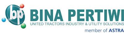 Lowongan Kerja PT Bina Pertiwi (BP) Hingga Mei 2017 (Anak Usaha PT United Tractors Tbk)