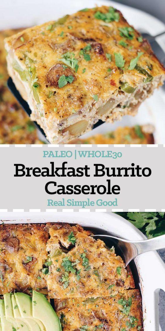 Breakfast Burrito Casserole Recipe (Paleo + Whole30)