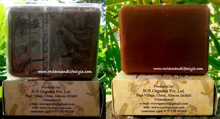 SOS Organics Vanilla Honey Beeswax Luxury handmade Soap india
