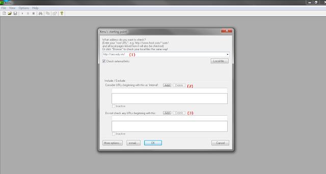 Tìm Broken Links sử dụng phần mềm SEO Xenu