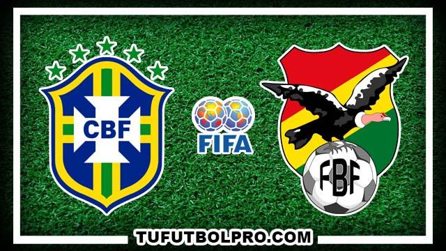 Ver Brasil vs Bolivia EN VIVO Gratis Por Internet Hoy 6 de Octubre 2016