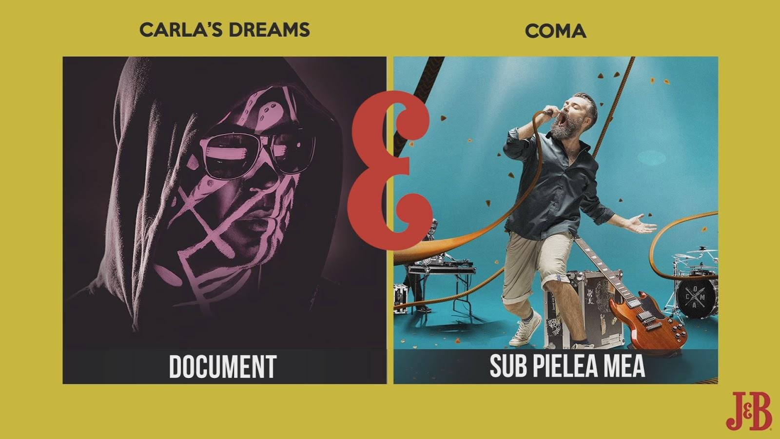 Blending Spirits by J&B - Coma vs. Carlas Dreams