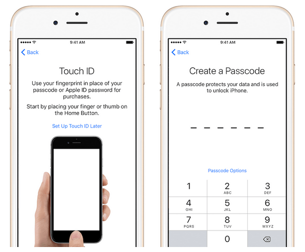 how to set up your new iphone