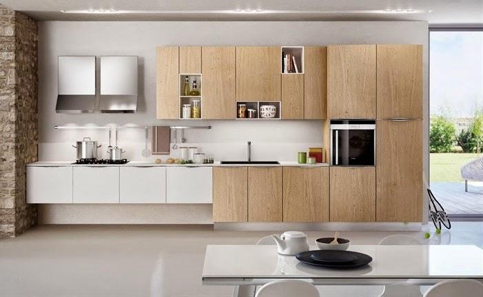 50 ideas de c mo combinar los colores en la cocina for Historia de la cocina moderna