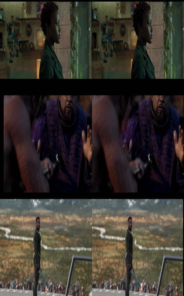 Black Panther (2018) 3D SBS Latino Dual