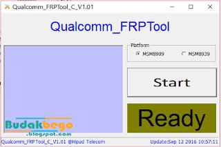 Tool Penghapus FRP Qualcomm