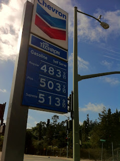 Gas Prices Nearly at $4.84 per Gallon - Source: Powerline