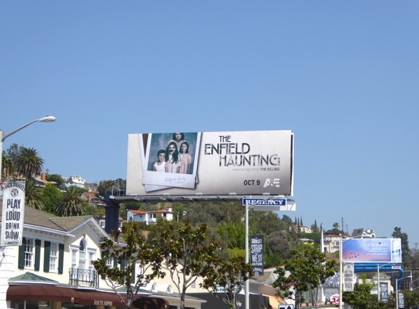 The Enfield Haunting billboard