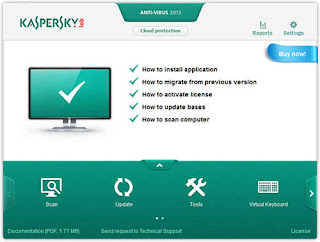 Kaspersky Antivirus for Windows 8