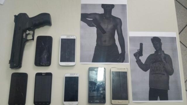 Operação conjunta prende quadrilha de roubo de celulares no sertão de SE