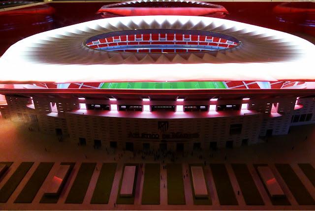 Philips iluminará el nuevo estadio del Atleti