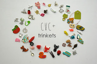 I spy trinkets cvc words