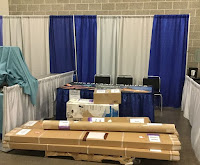 NorthPoint Paddles Booth - Before