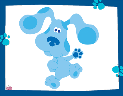 Blue Clues Free Printable Frames