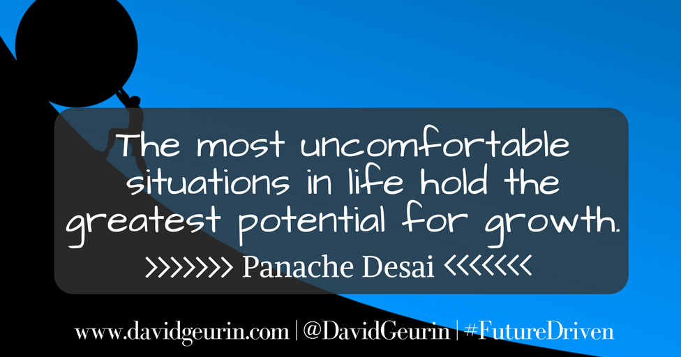 The @DavidGeurin Blog: Do You Want Your Child to Grow or Do You Want Him to Be Comfortable?
