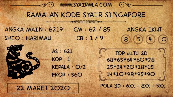 ramalan kode syair singapura