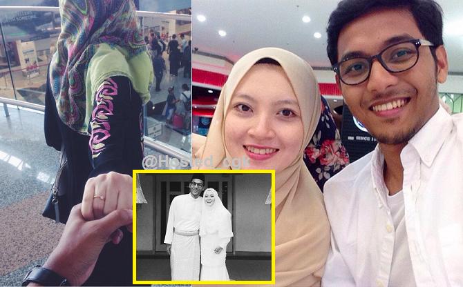 Rehat lah dengan tenang sayang Setelah bertarung nyawa kanser tahap 4 isteri nya di jemput ilahi pagi tadi..