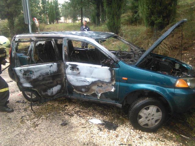 Θεσπρωτία: Καταδίωξη εμπόρου ναρκωτικών πριν λίγο στην Παραμυθιά - Βίντεο από τη στιγμή της έκρηξης του αυτοκινήτου
