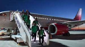 Saudi Arabia team land safely