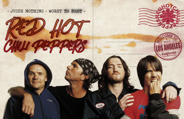 Worst to Best: Red Hot Chili Peppers