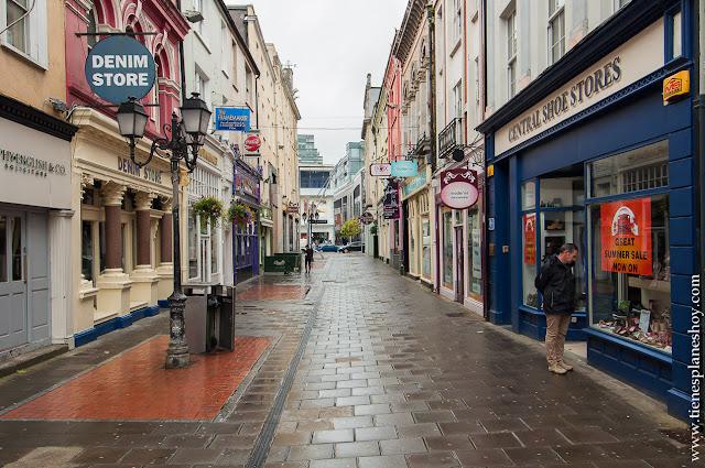 Calles de Cork Irlanda