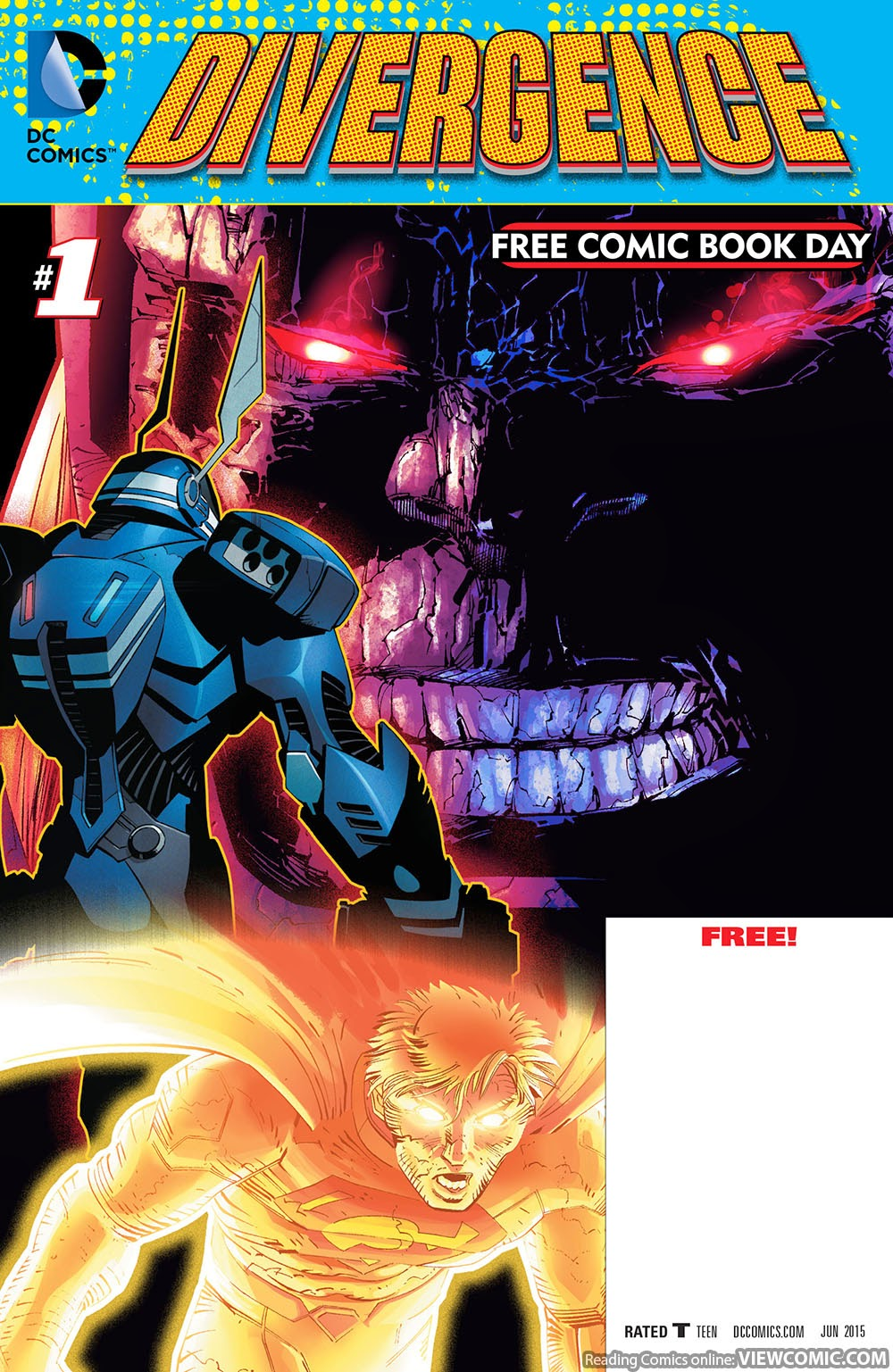 2015 Free Comic Book Day Special Divergence No.1