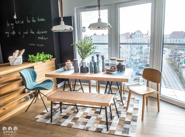 An Apartment With Nordic Style and Industrial Touches 1