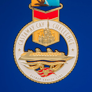 Castaway Cay Challenge Medal