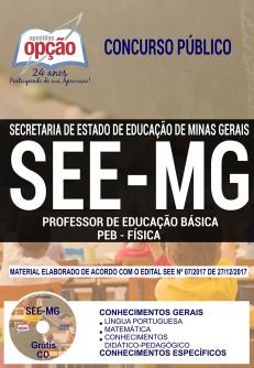 Apostila SEE-MG cargo Professor de FÍSICA