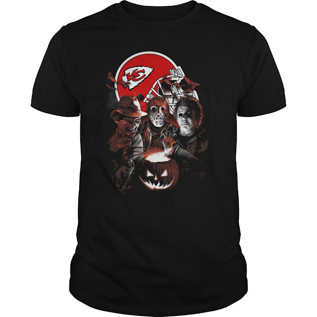 Kansas City Chiefs Halloween Scream Team Shirt