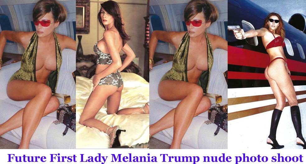 Compare First Ladies Melania Trump Nude Photos Of Donald Trumps Wife Surface From Racy Shoots-2699