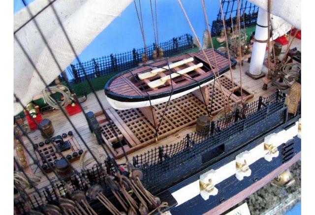 USS Constitution Model Deck