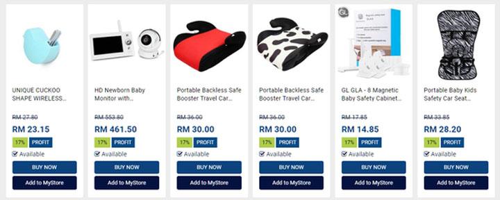 100 000 produk dropship untuk dijual di Shopee