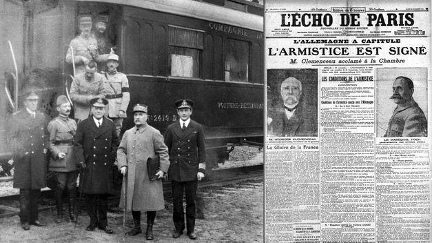 Hoje na História: 1918 - Alemanha assina armistício que põe fim à Primeira Guerra Mundial